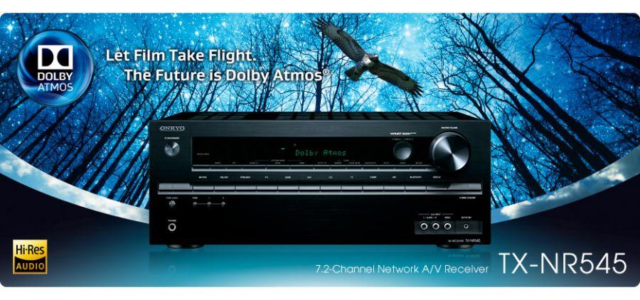 Onkyo TX-NR545 AV Receiver