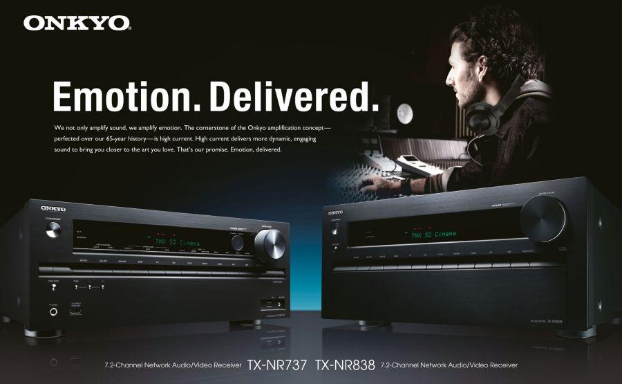 Onkyo TX-NR838 AV Receiver
